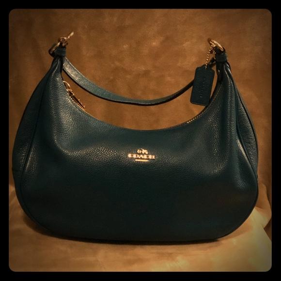 Coach Handbags - Authentic COACH Pebble Leather Harley Hobo